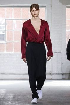 Duckie Brown Ready To Wear Fall Winter 2015 New York - NOWFASHION