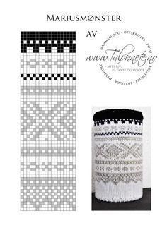 Marius used to cover a box Fair Isle Knitting Patterns, Knitting Stiches, Fair Isle Pattern, Knitting Charts, Knitting Designs, Knit Patterns, Hand Knitting, Cross Stitch Patterns, Cross Stitch Embroidery
