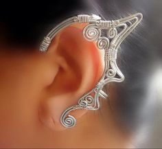 Silver Elven Ear Wrap