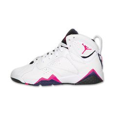 Air Jordan Retro 7 Kids' Basketball Shoes ($150) ❤ liked on Polyvore featuring shoes, jordans e sneakers