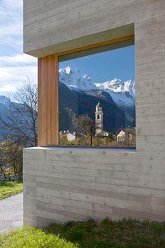 RUCH & PARTNER ARCHITEKTEN AG - Soglio Galerie
