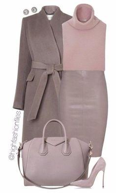 06cca17b7cc3 3 способа носить кожаную юбку-миди, если ваша фигура далека от идеала Mode  Tips