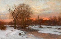 Anders Andersen-Lundby - Winterabend bei Krailling | Flickr - Photo Sharing!