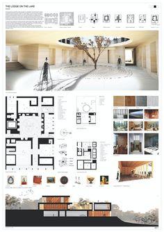 Architecture Design, Architecture Panel, Architecture Portfolio, Concept Architecture, Landscape Architecture, Architecture Student, Architecture Diagrams, Landscape Design, Environmental Architecture