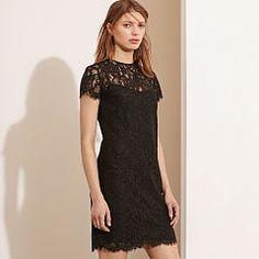 Lace Short-Sleeve Dress - Lauren Short - RalphLauren.com
