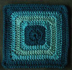 Coalescent Crochet granny squares
