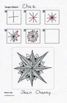 Tangle Street Studio: Chaz, Zentangle®, Step-Outs