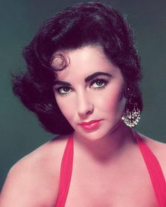 The Red Lip: An American Classic -  Elizabeth Taylor  knew the power of a bold red lip worn with confidence.