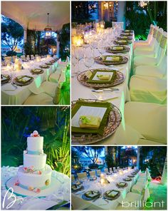 Regent Palms Reception details, Turks and Caicos Islands
