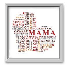 Pamiątkowy obrazek prezent na Dzień Mamy. w Roanstudio na DaWanda.com