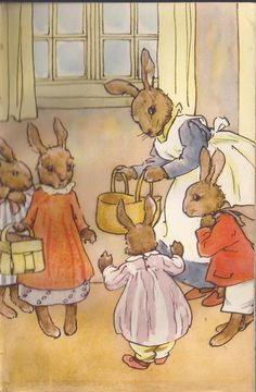 Image result for ladybird bunnykins picnic