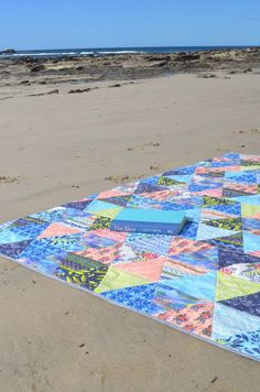 Faux Patchwork Quilt featuring Monteverde fabric by Hawthorne Threads