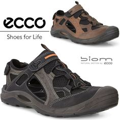 ca2a13cbde00 ECCO Biom DELTA Oiled Nubuck Leather Offroad All Terain Outdoor Hiking  Sandals  ECCO  Sandals