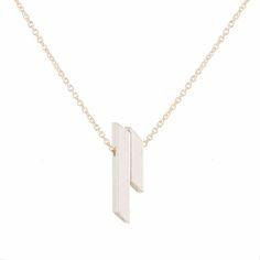 Limbo Jewelry Angle Rayo Necklace