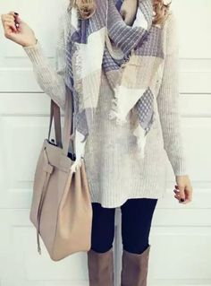 Stitch Fix: i like the scarf and sweater.