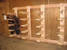 wooden saddle rack plans