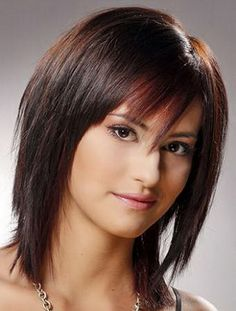 meduim hairsyles with bangs fine hair Medium Hair Cuts, Medium Hair Styles, Short Hair Styles, Haircuts For Fine Hair, Bob Hairstyles, Layered Hairstyles, Celebrity Hairstyles, Choppy Haircuts, Female Hairstyles