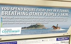 This incredibly aggressive poster on the tube. | 23 Jokes Only British People Will Truly Appreciate