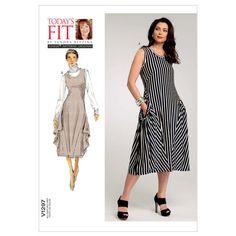 Misses' Dress-All Sizes in One Envelope Pattern at Joann.com