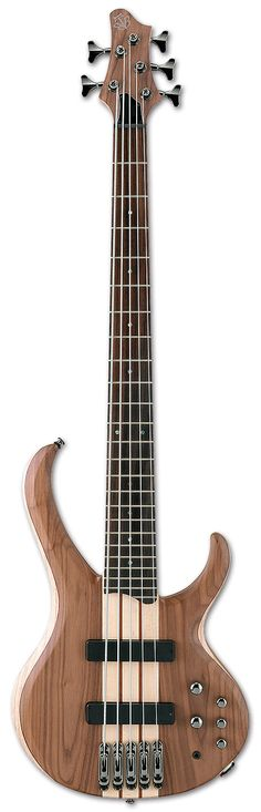 Ibanez BTB675 Bass Natural Flat