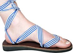 Sseko Sandals are to tie for... Super cute and help educate women in Uganda. Definitely check them out!