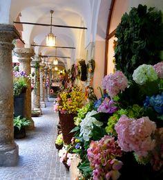 Flower shop in Salzburg, Austria