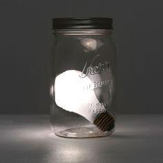bemerkenswerte inspiration tischleuchte batteriebetrieben am besten bild der efbeebdafe jar lights in a jar