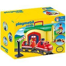 Playmobil - 1.2.3 Tren Maletín - 6783