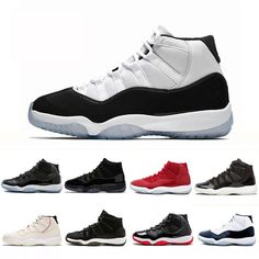 ba8615e4b6ef9a Shoes · Concord High 45 11 XI 11s Cap and Gown PRM Heiress Gym Red Chicago  Platinum Tint