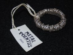 METAL POINTUS PARIS WIRE ALLIOUCE RING #MetalPointus