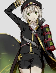Hotarumaru which Izumi(Tsurumaru Kuninaga's character designer) drew. Photo by Izumi official twitter(izumi516). #toukenranbu