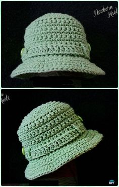Crochet Fishing/Tilly Hat Free Pattern - Crochet Boys Sun Hat Free Patterns