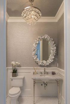 Beautiful Half Bathroom Ideas That Will Impress Your Guests #HalfBathroom #Bathroom