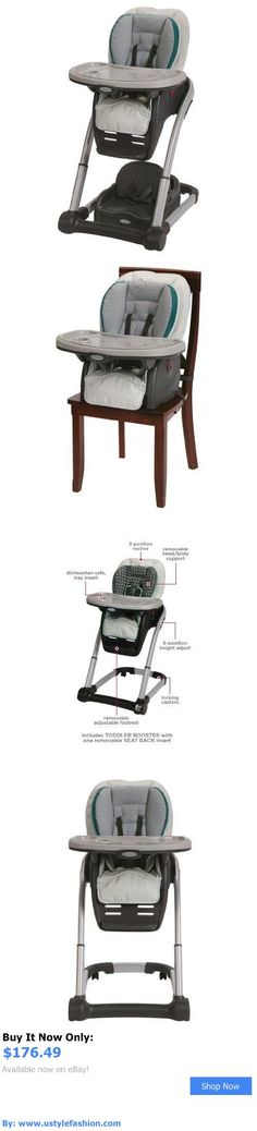 Baby High Chairs: Graco Blossom 4 In 1 Seating System Highchair, Sapphire Baby High Chair BUY IT NOW ONLY: $176.49 #ustylefashionBabyHighChairs OR #ustylefashion