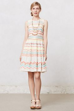 New Sz 10 Anthropologie Sunglow Stripes Dress by Plenty by Tracy Reese Sundress. Endlessly flattering, perfectly ladylike, always ready for a party: It's no wonder we adore the fit-and-flare. From Plenty by Tracy Reese. Striped Wedding, Stripped Dress, Inspiration Mode, Fashion Inspiration, Spring Fashion Trends, Fashion Ideas, Women's Fashion, Feminine Dress, Spring Dresses