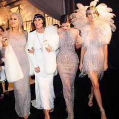 Khloe, Kris, Kylie and Kendall.