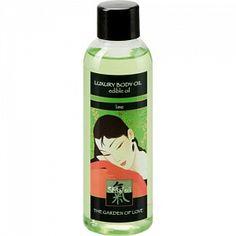 Съедобное масло для тела с ароматом Лайма 100 мл - купить за 660 р - Pelotkashop.ru