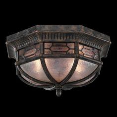 Fine Art Lamps Devonshire 2 Light Flush Mount