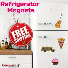 Great deals & special price offers on fridge magnets. Order today to avail the best prices! Refrigerator Magnets, Indoor, Shapes, Logo, Prints, Interior, Logos, Environmental Print