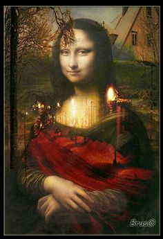 Renaissance Artists, Italian Renaissance, Mona Lisa Parody, Mona Lisa Smile, Guinness World, Many Faces, Italian Artist, Cultura Pop, Fine Art