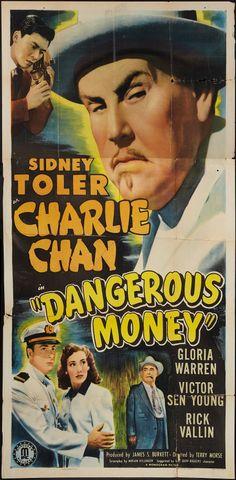 """Dangerous Money (Monogram, 1946). Three Sheet (41"""" X 78"""")."""