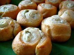 Jalepeno Cream Cheese Rolls