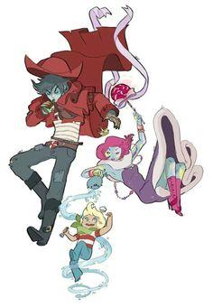 The Misadventures Of Flapjack Anime Version.