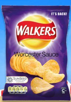 Walkers Worcester Sauce.
