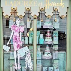 London calling! Regram from @fashionfoiegras of @laduree_london at @harrods #Harrods #London