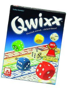 Nürnberger-Spielkarten 4015 – Qwixx – Nominiert zum Spiel des Jahres 2013 | Your #1 Source for Toys and Games