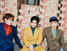 "SHINee Teaser Images for October Comeback ""1of1"" - Jonghyun, Key, and Taemin"