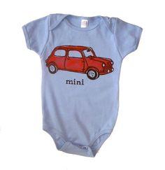 Mini Cooper onesie