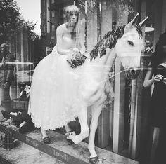 Ritt ins Glück. #horrorwedding #hochzeit #schimmel #braut #bride #pferd #horse #berlin #neukölln #brautmode #bridalfashion #bridal #whitehorse #wedding #hochzeitskleid #weddingdress
