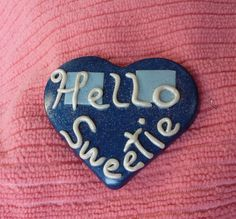 Hello Sweetie Heart  S129 by artsdaughter on Etsy #drwho #whovian #jewelry